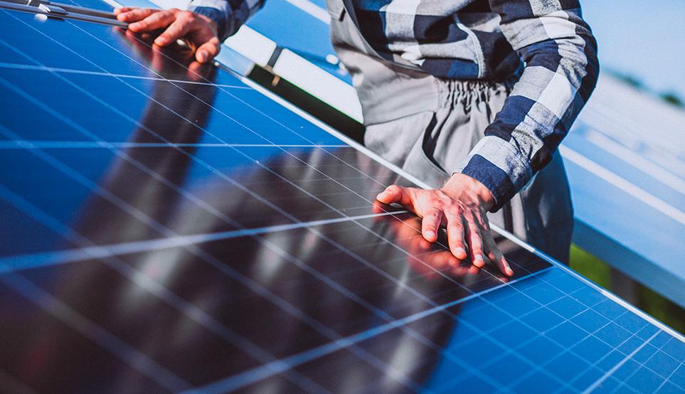panneaux solaire - énergie renouvelable