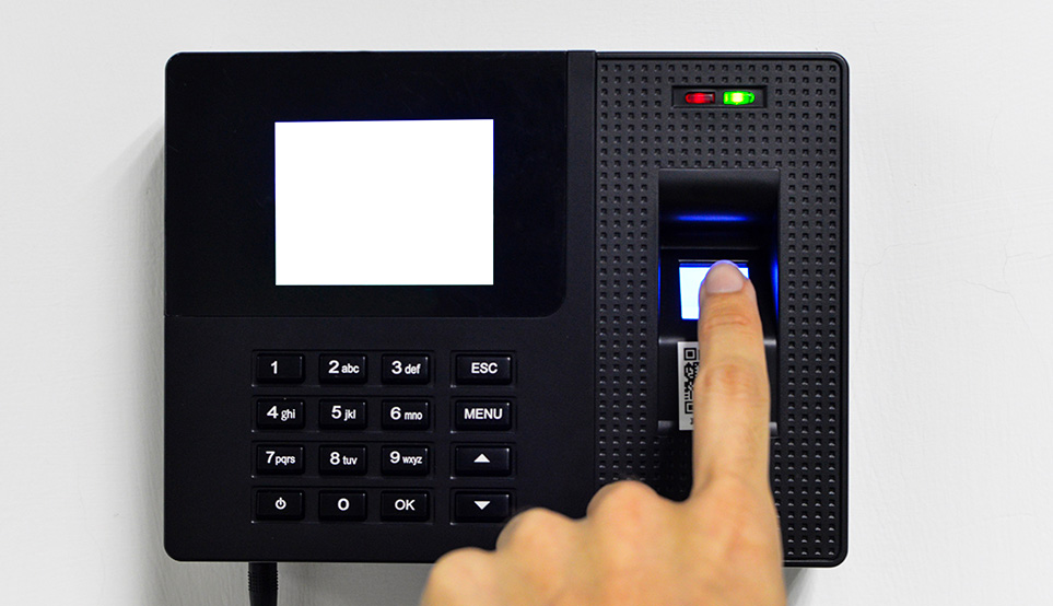 système anti-intrusion reconnaissance digitale